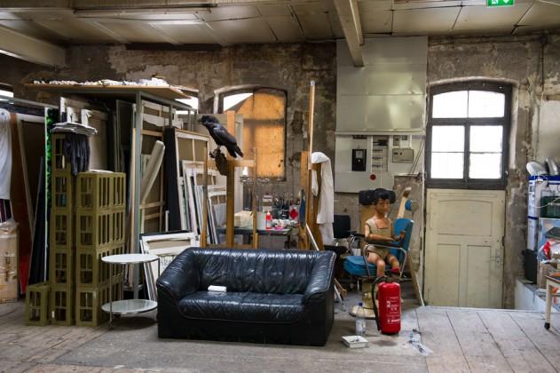 Atelier in der alten Spenglerei
