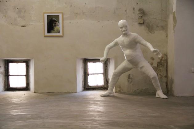Ausstellungsansicht in der contemporallye 2012